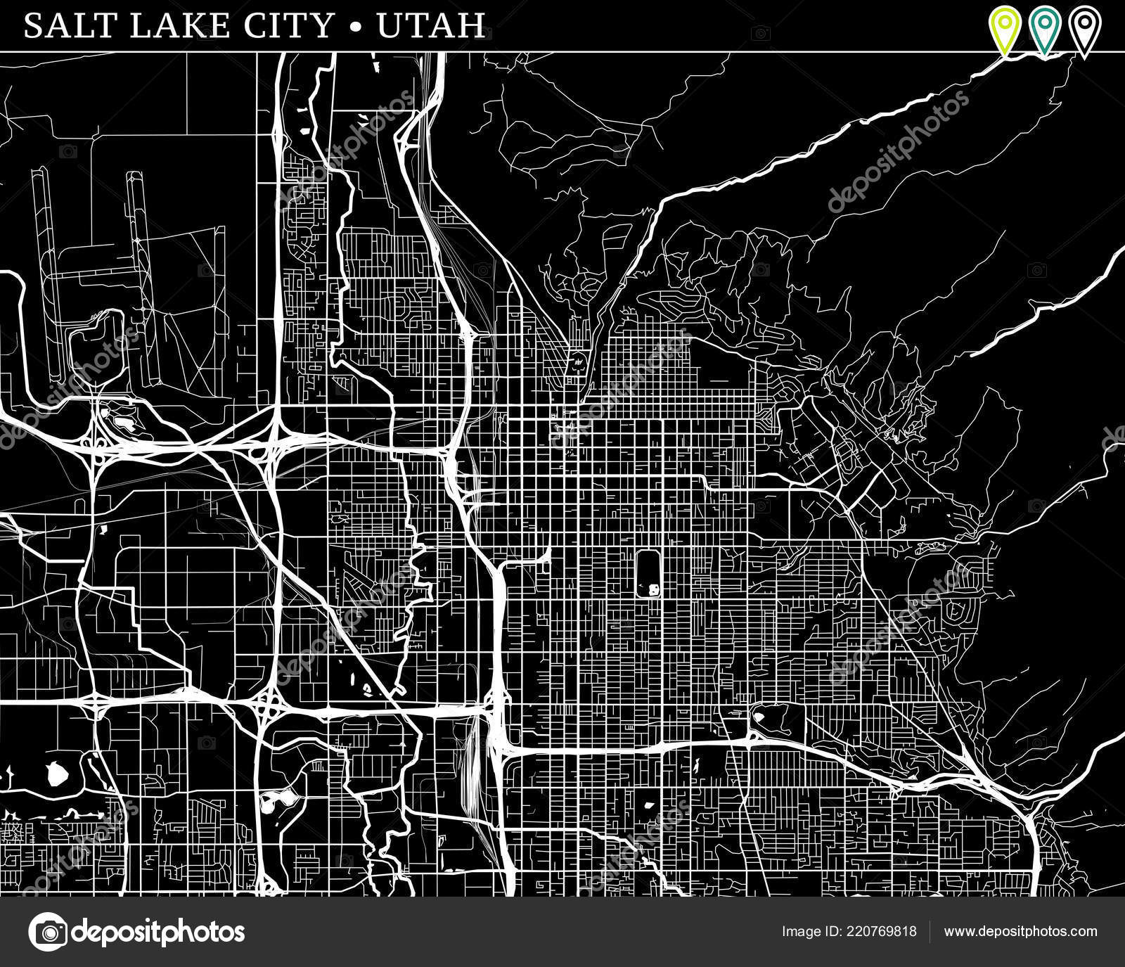 Simple Map Salt Lake City Utah Usa Black White Version ... on salt lake city va map, snowbird utah map, sioux city iowa on usa map, salt lake city on a state map, salt lake city streetcar map, salt lake city utah area map, salt lake city with map of america, southern utah tourism map, salt lake city zip code map, sandy utah on usa map, utah airports map, snowbird mountains north carolina map, salt lake city on us map, great salt lake map, lake city street map, salt lake city parking map, utah road map, kansas city missouri on usa map, ogden utah on usa map,