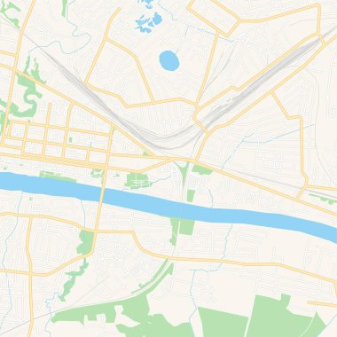 Polotsk, Belarus printable map