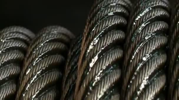 Ipari fémkábel gyártása. Acélkötél. Tápkábel.