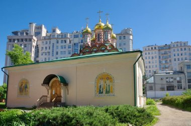 Church of St. Nicholas on Bersenevka in the Upper Gardeners in Moscow, Russia. Built in 1656-1657