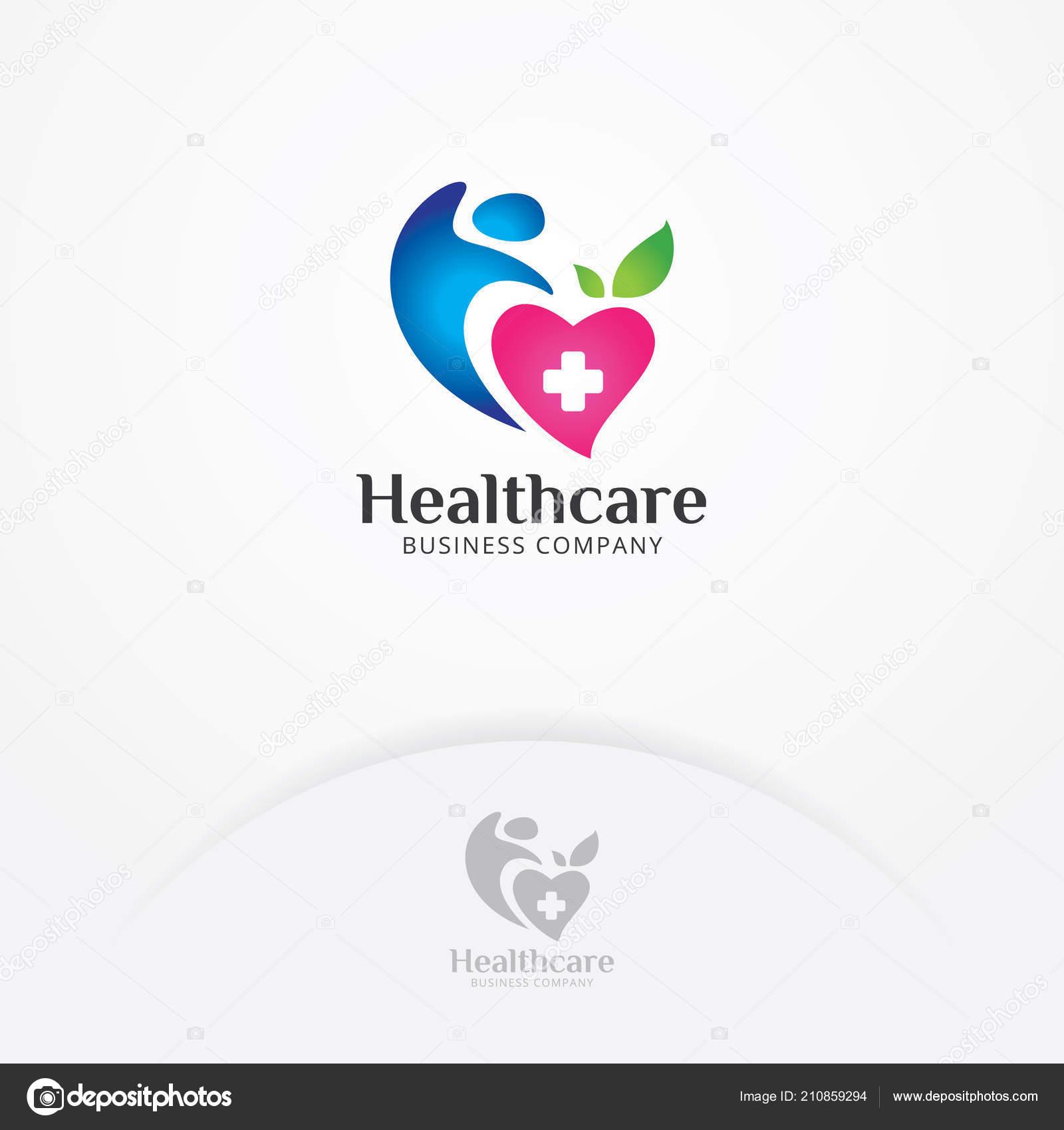 f8eec97ca9cb Сердце Тело Медицинского Логотип Символ Сердца Здоровья Человека ...