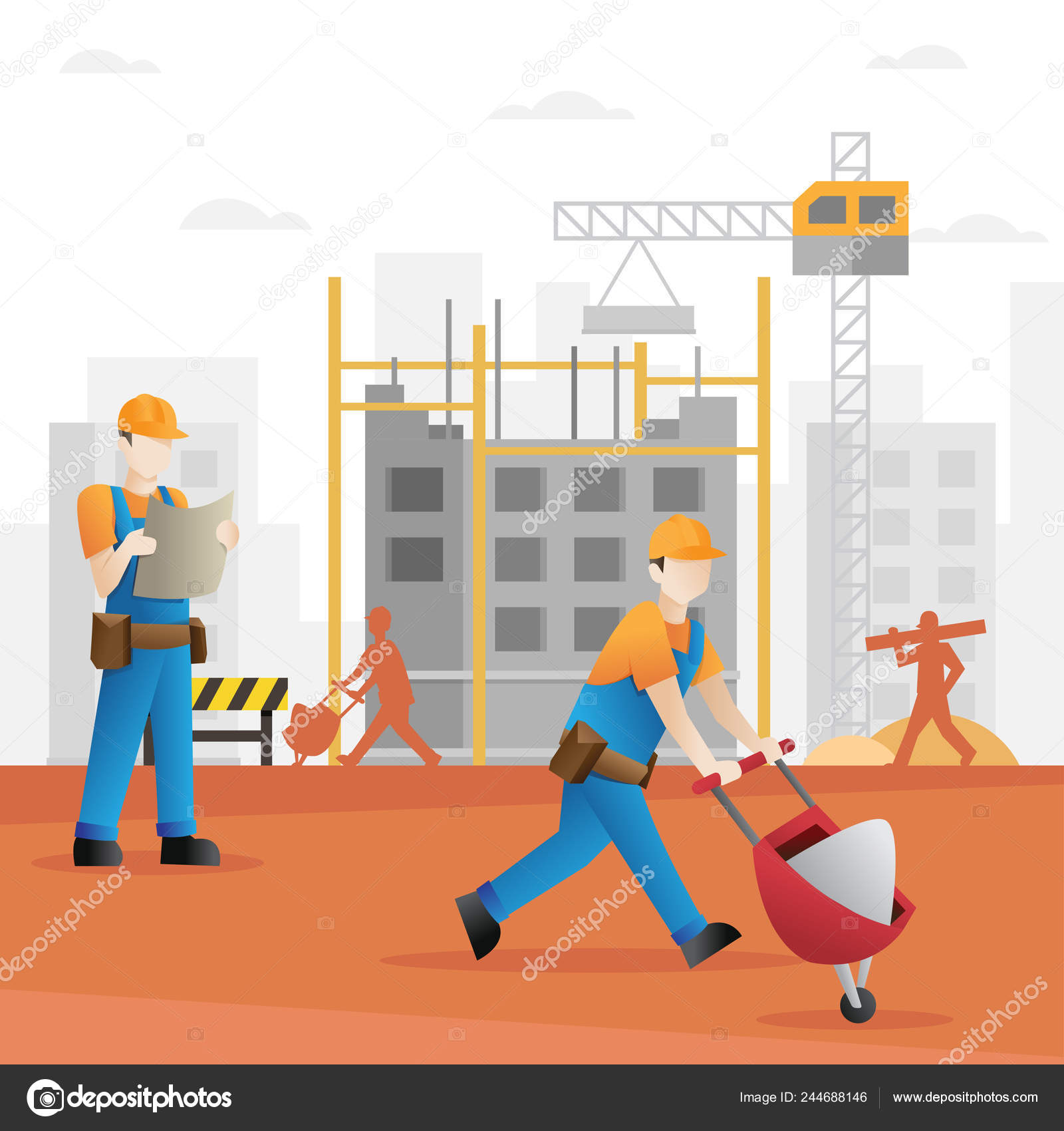 Images Building Construction Cartoon Construction Builder Cartoon Building Construction Industry Cartoon Background Workers Construction Stock Vector C Irfanfirdaus19 Yahoo Com 244688146
