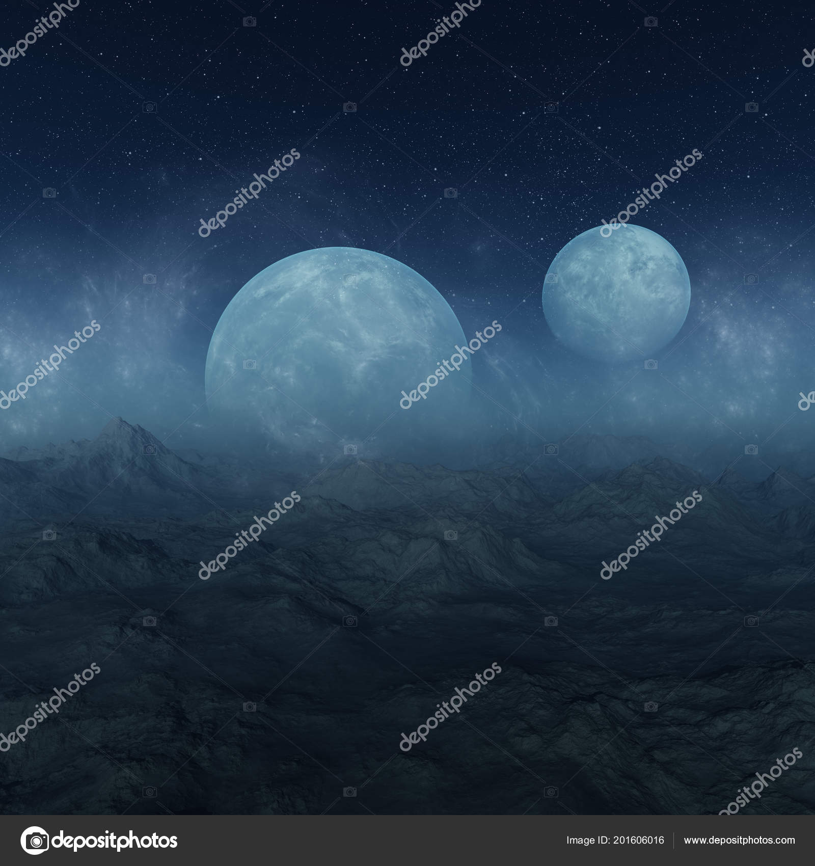 Wallpapers Alien Planet Rendered Space Art Misty Alien