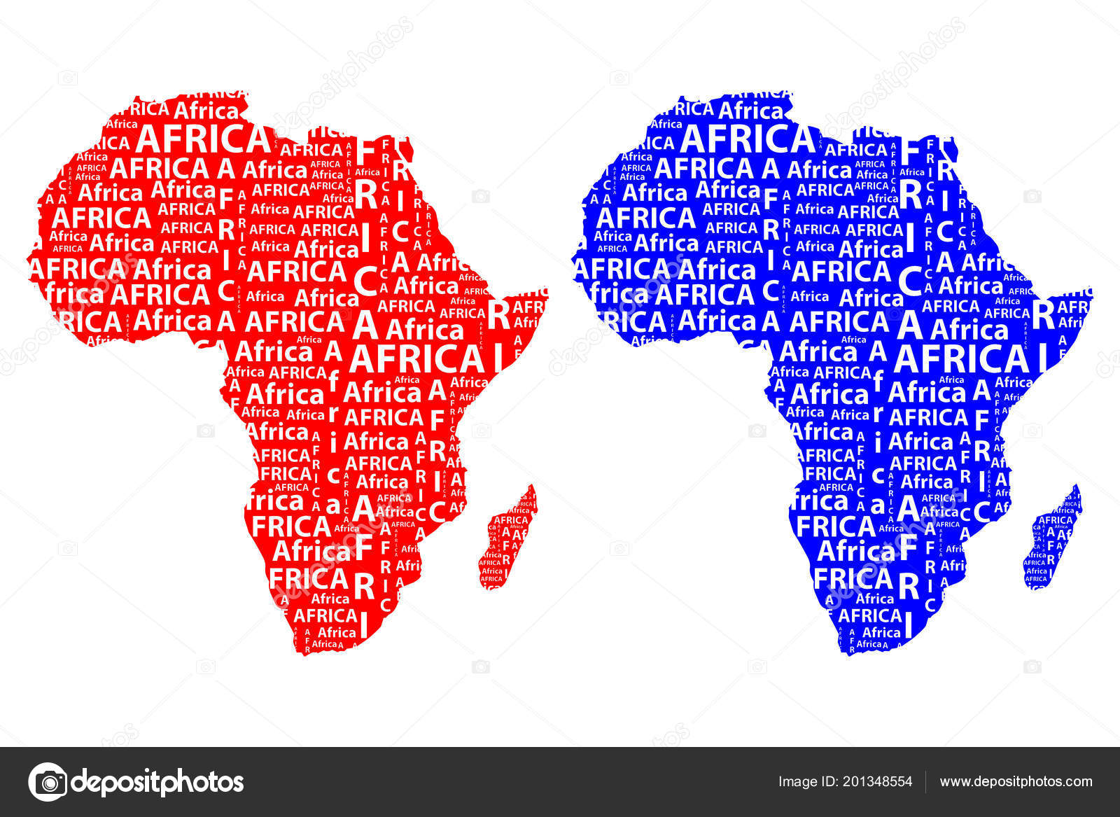 Shape Of Africa Map.Sketch African Letter Text Continent African Word Shape Continent