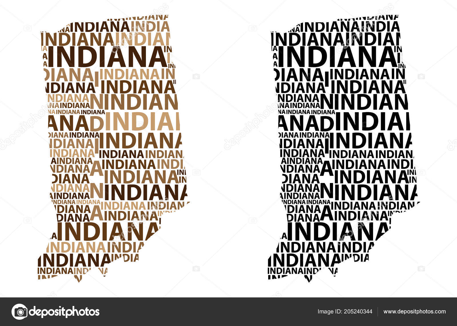 Sketch Indiana United States America Letter Text Map Indiana ... on map of indiana and wisconsin, map of indiana and tennessee, map of indiana and farmland, map of indiana and chicago, map of indiana and towns,