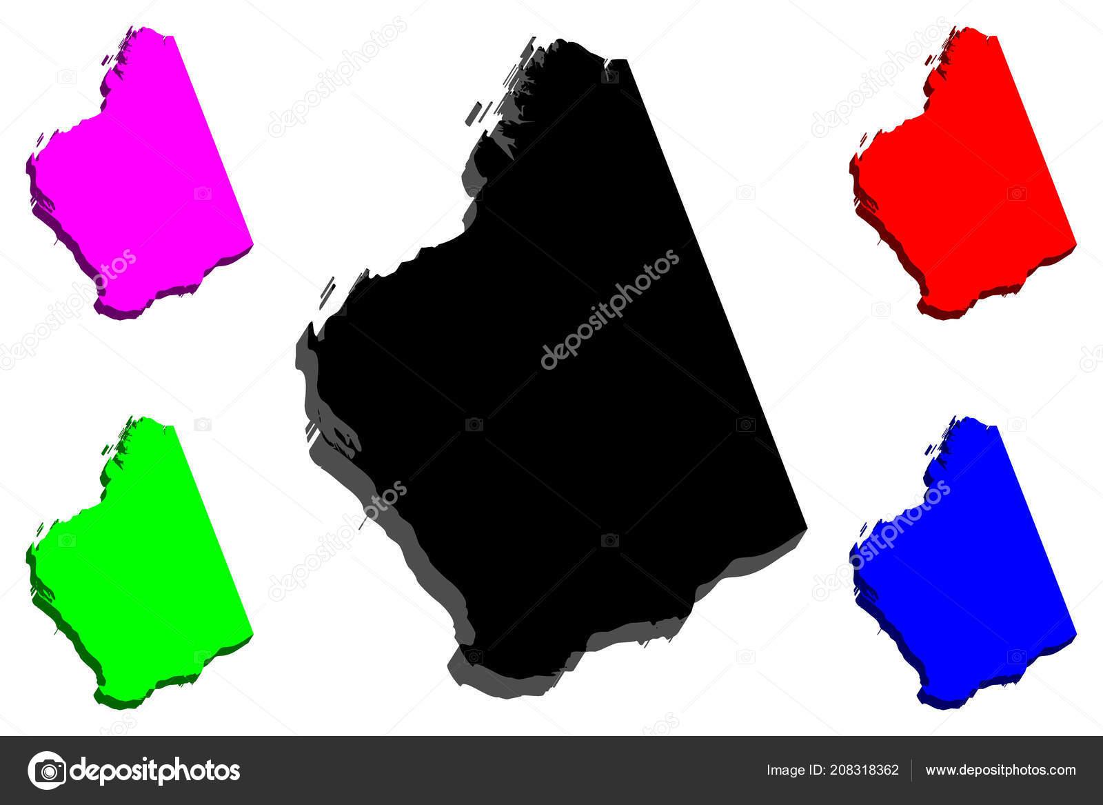 Australia Map States And Territories.Map Western Australia Australian States Territories Black Red Purple