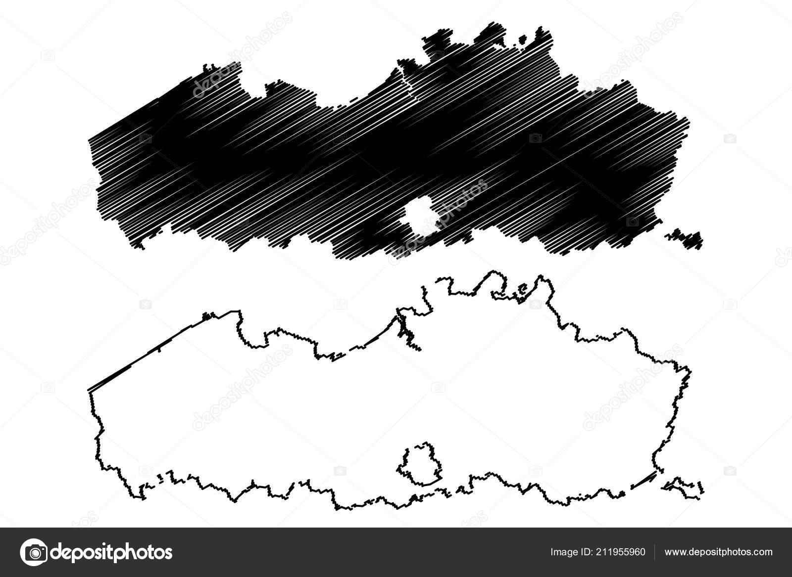 Carte Belgique Communautes Et Regions.Flandre Region Belgique Royaume Belgique Communaute Carte Vector