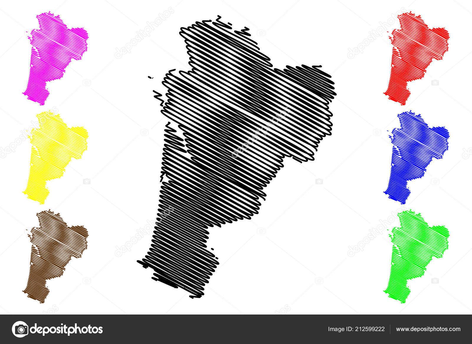 Nouvelle Aquitaine France Administrative Region Map Vector