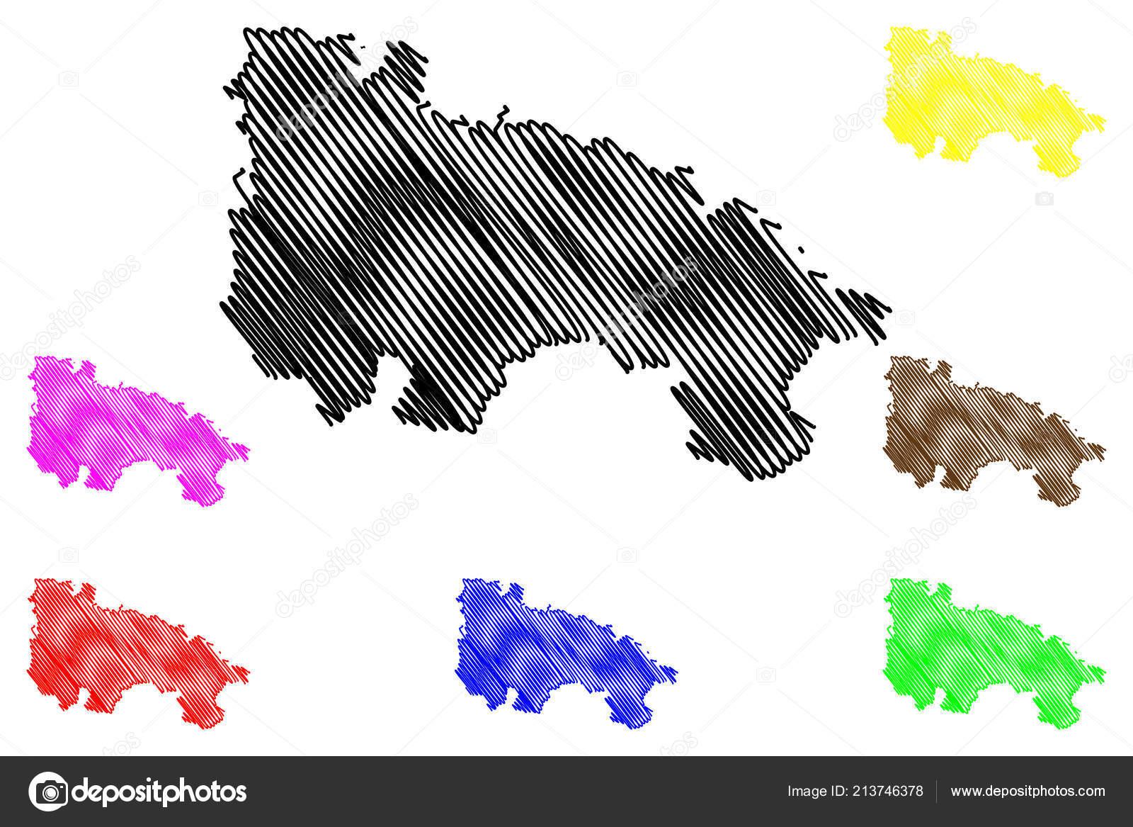 Autonome Regionen Spanien Karte.Rioja Konigreich Von Spanien Autonome Region Karte Vektor