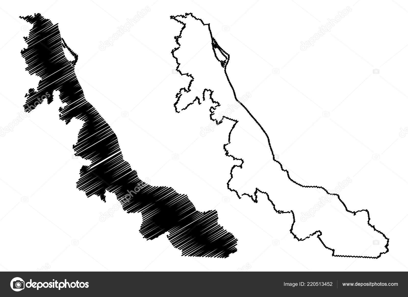 Ilustración Vector Veracruz República Federal Estados Unidos