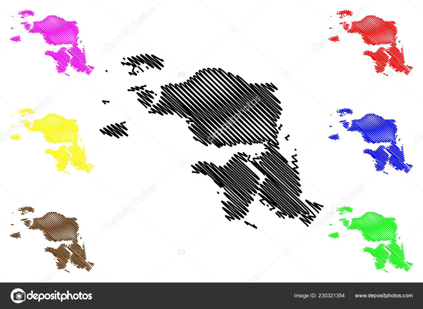 West Papua Subdivisions Indonesia Provinces Indonesia Map