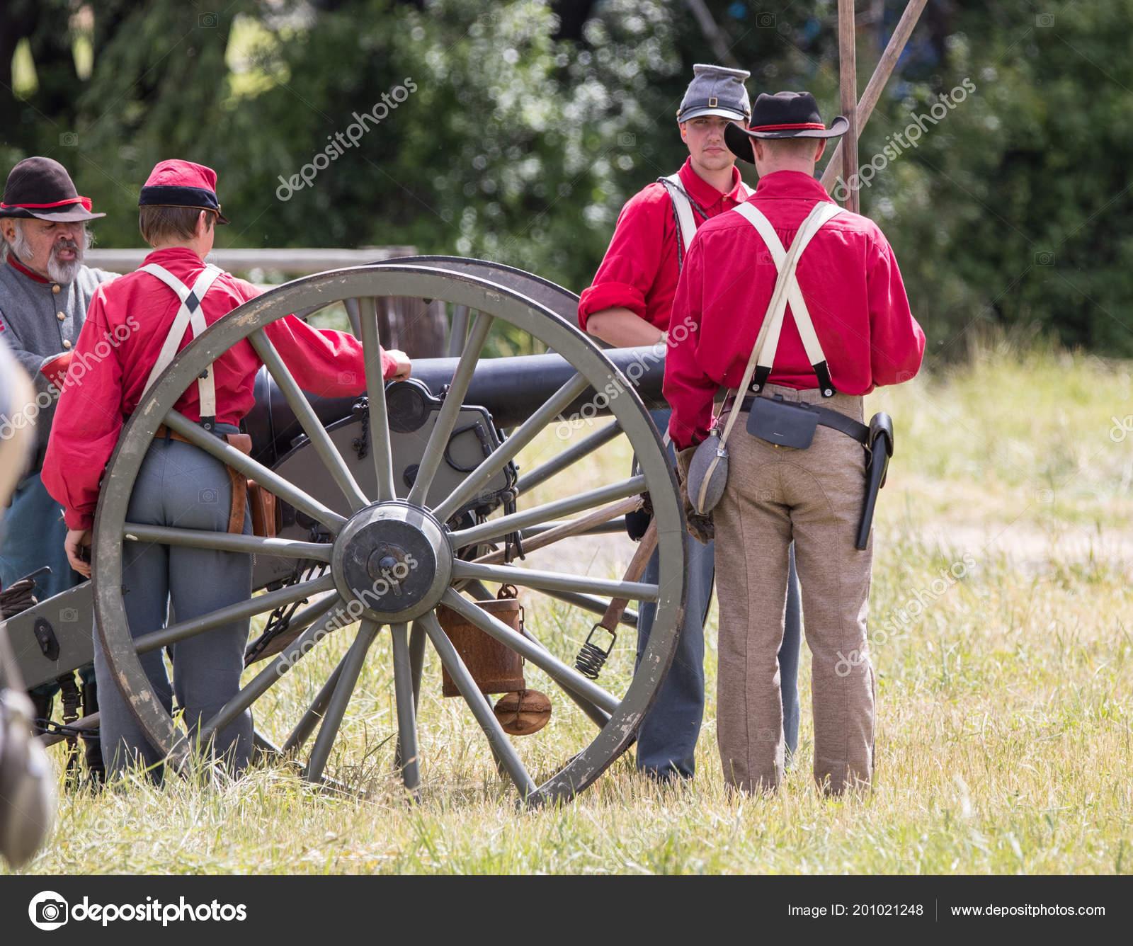American Civil War Reenactment Fullbright Park Union Gap