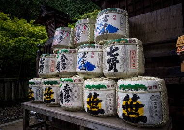 Fujiyoshida Sengen Shrine, Japan - Sep 2018.