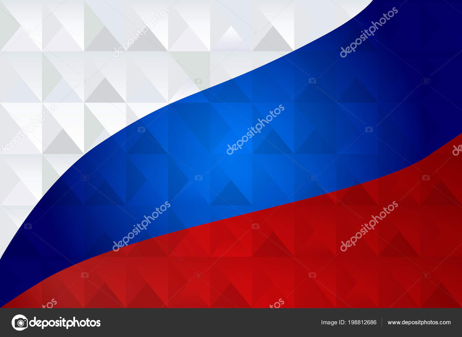 cad722c6920e61 2018 World Cup Soccer Competition Russian Flag Tricolor White Blue ...