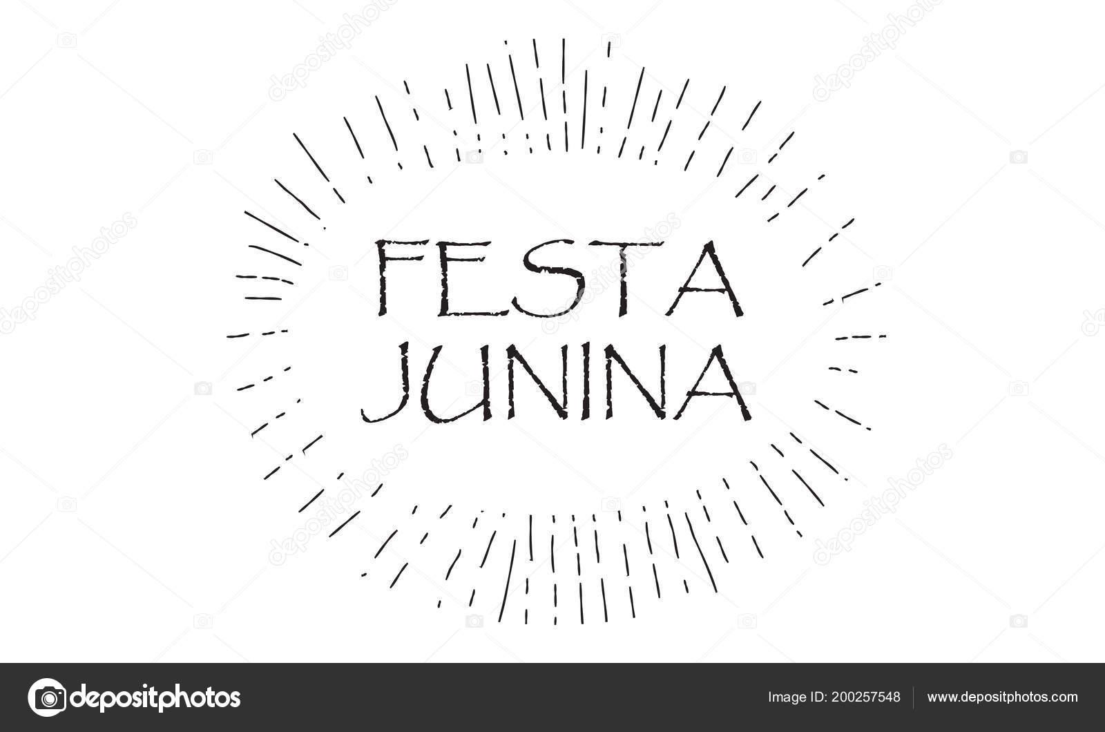 Brazilian Traditional Celebration Festa Junina Summer