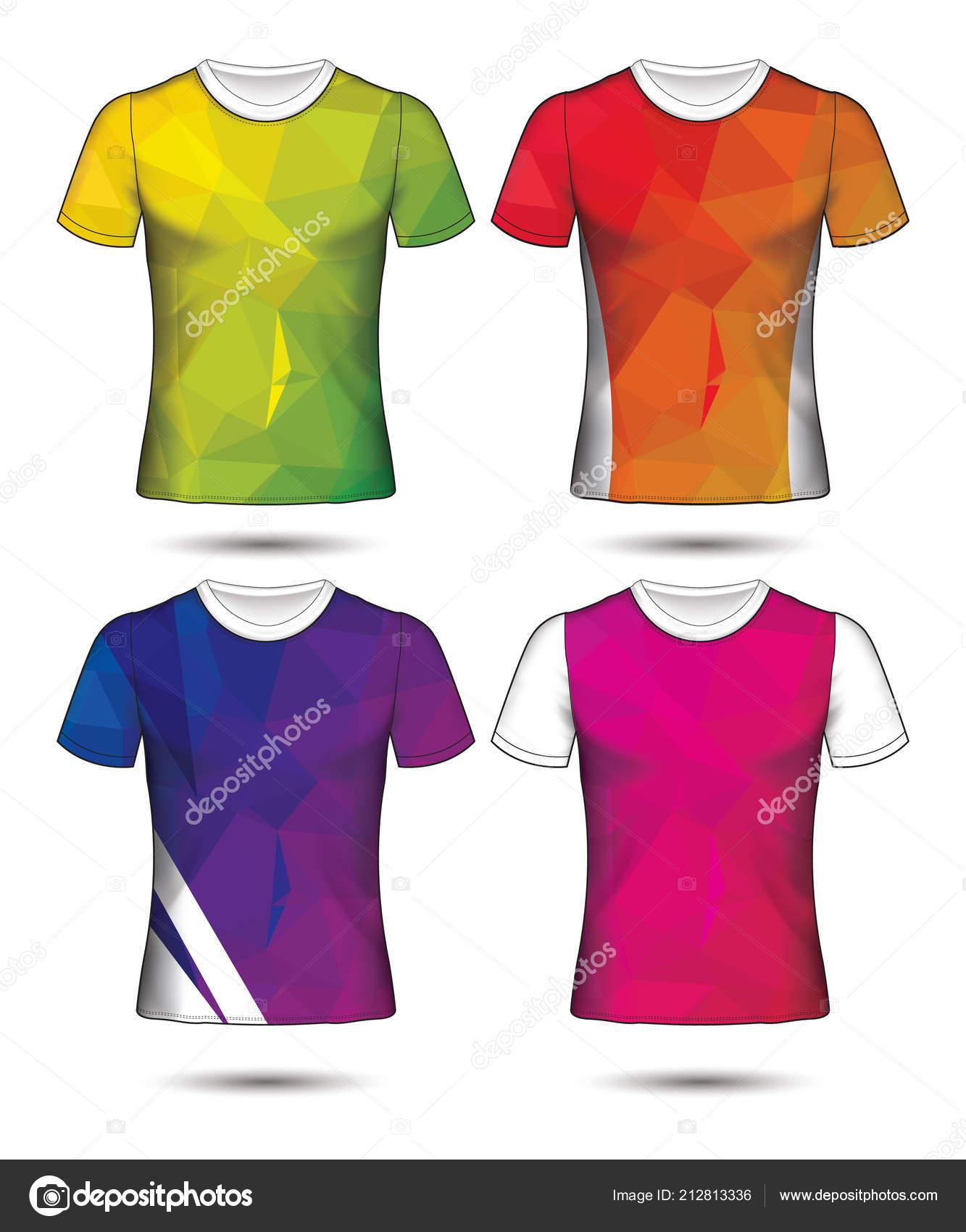 dff289f35e12 Πουκάμισο Πρότυπο Πλάτη Διάνυσμα Μέτωπο Σχεδιασμός Λευκό Shirt Μόδα Ρούχα — Διανυσματικό  Αρχείο