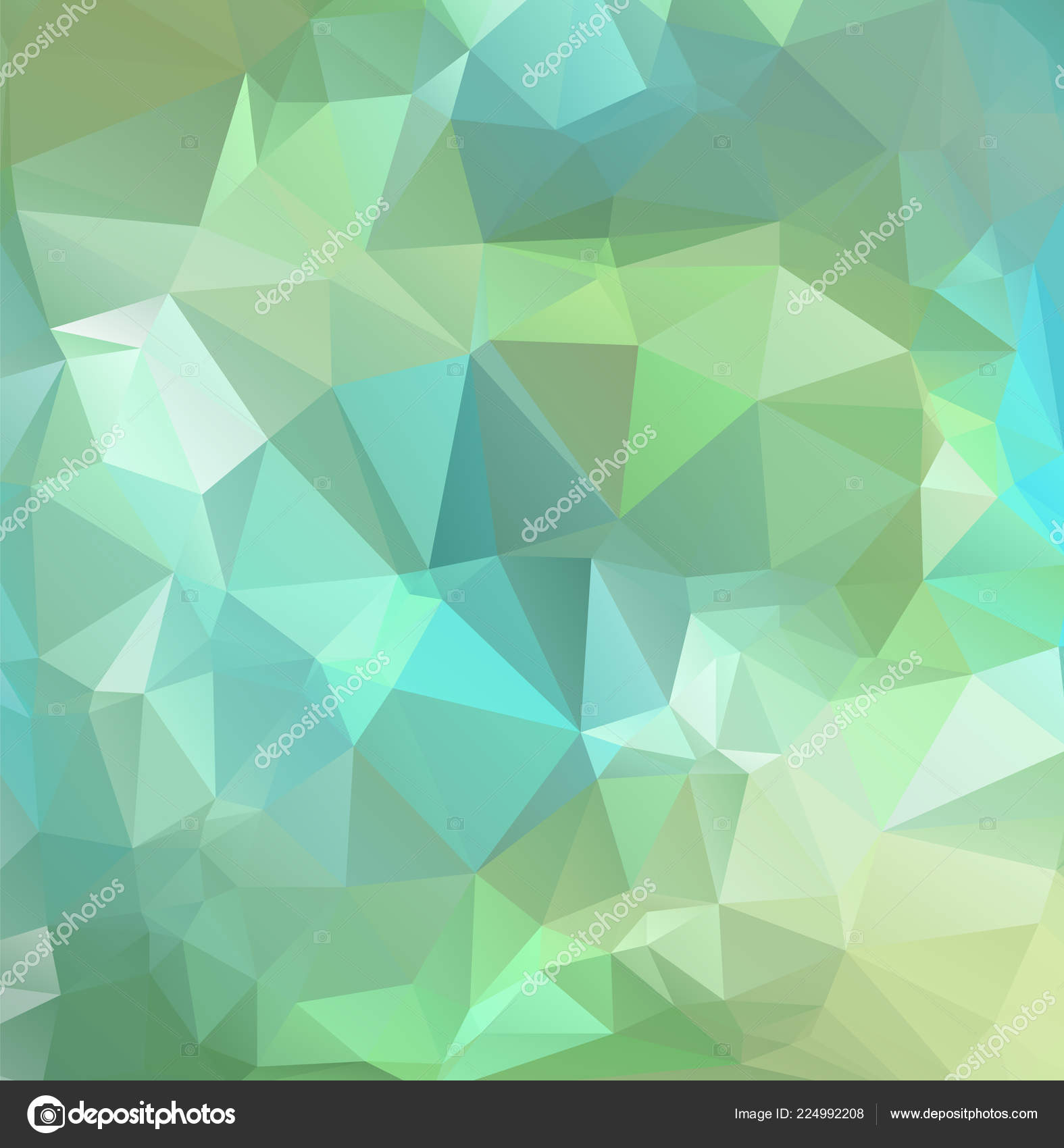 Abstract Geometric Backgrounds Full Color — Stock Vector
