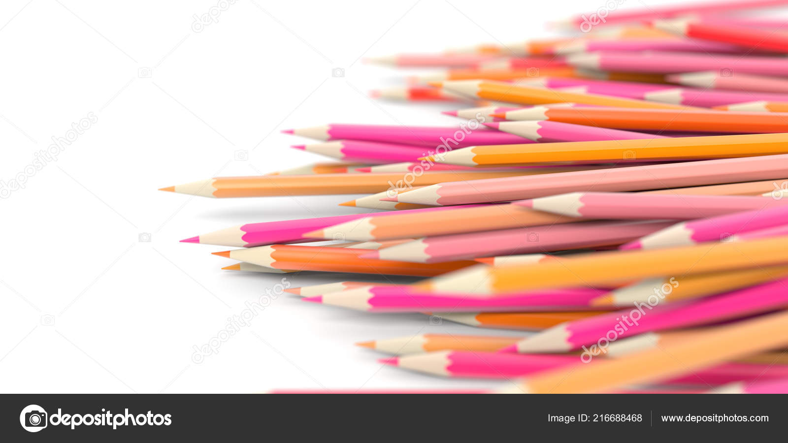 Wallpaper Education Theme Infinite Pencils Background Education Creativity Theme Stock Photo C Tostphoto 216688468