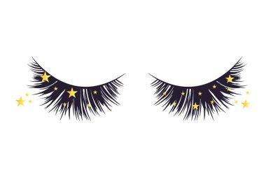Luxury extension eyelashes