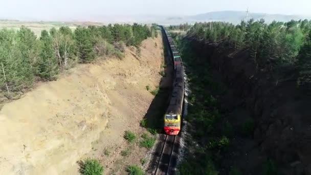Zug Kohle Versand Export Lieferung Russland schwarz