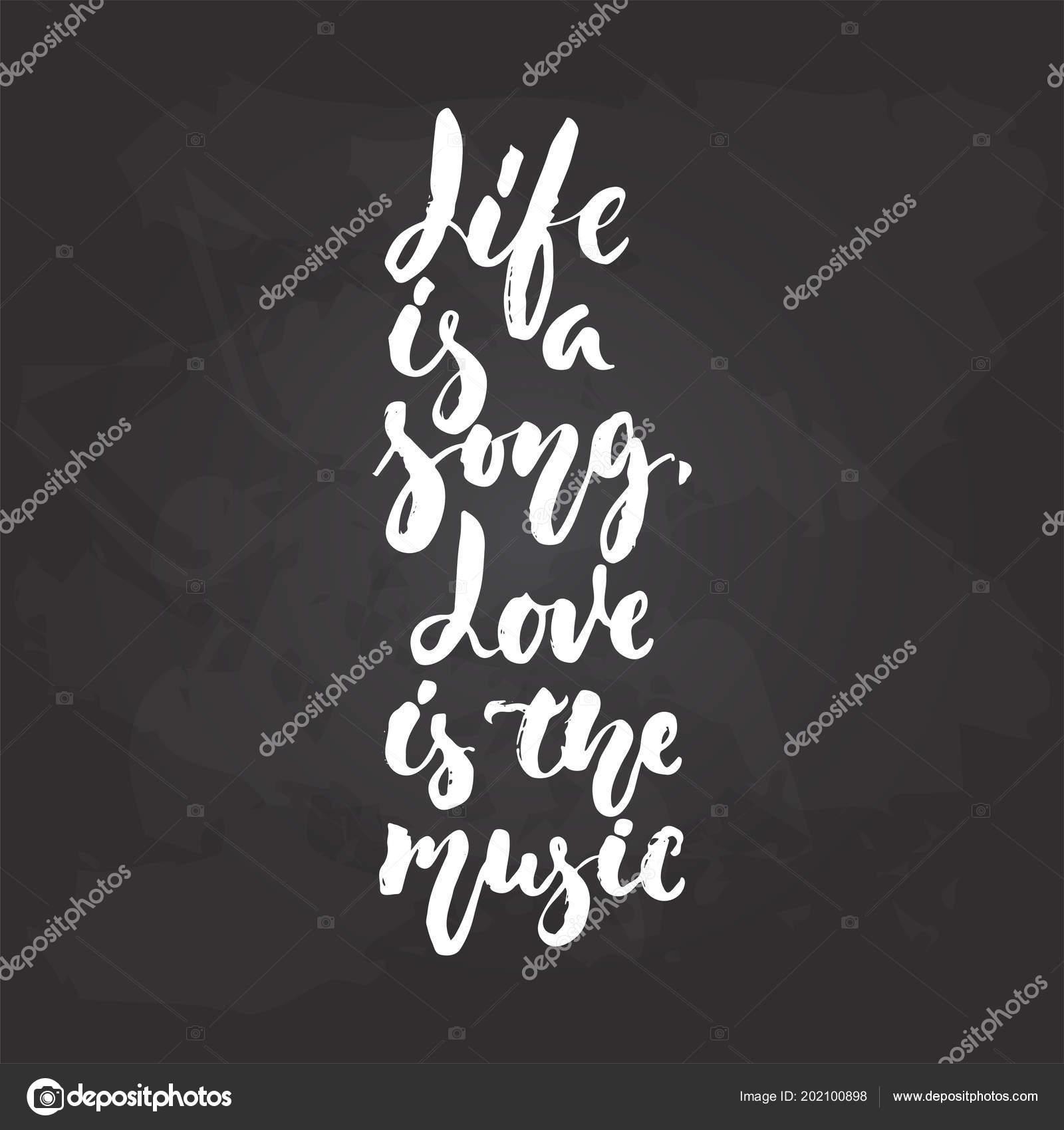 A Vida é Uma Canção. O Amor é A Música