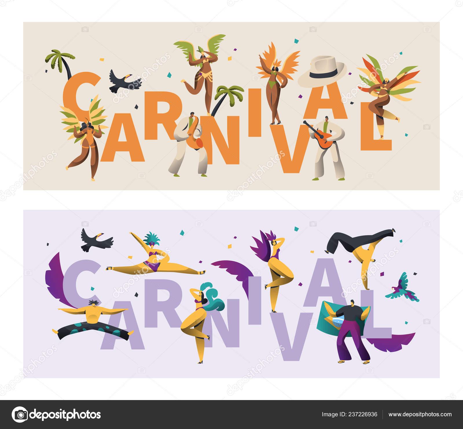 52cc9f817b94 Brasil de plumas disfraz carnaval tipografía bandera de juego. Ala ...