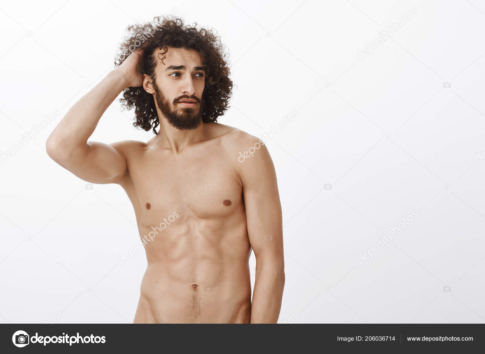Confident naked