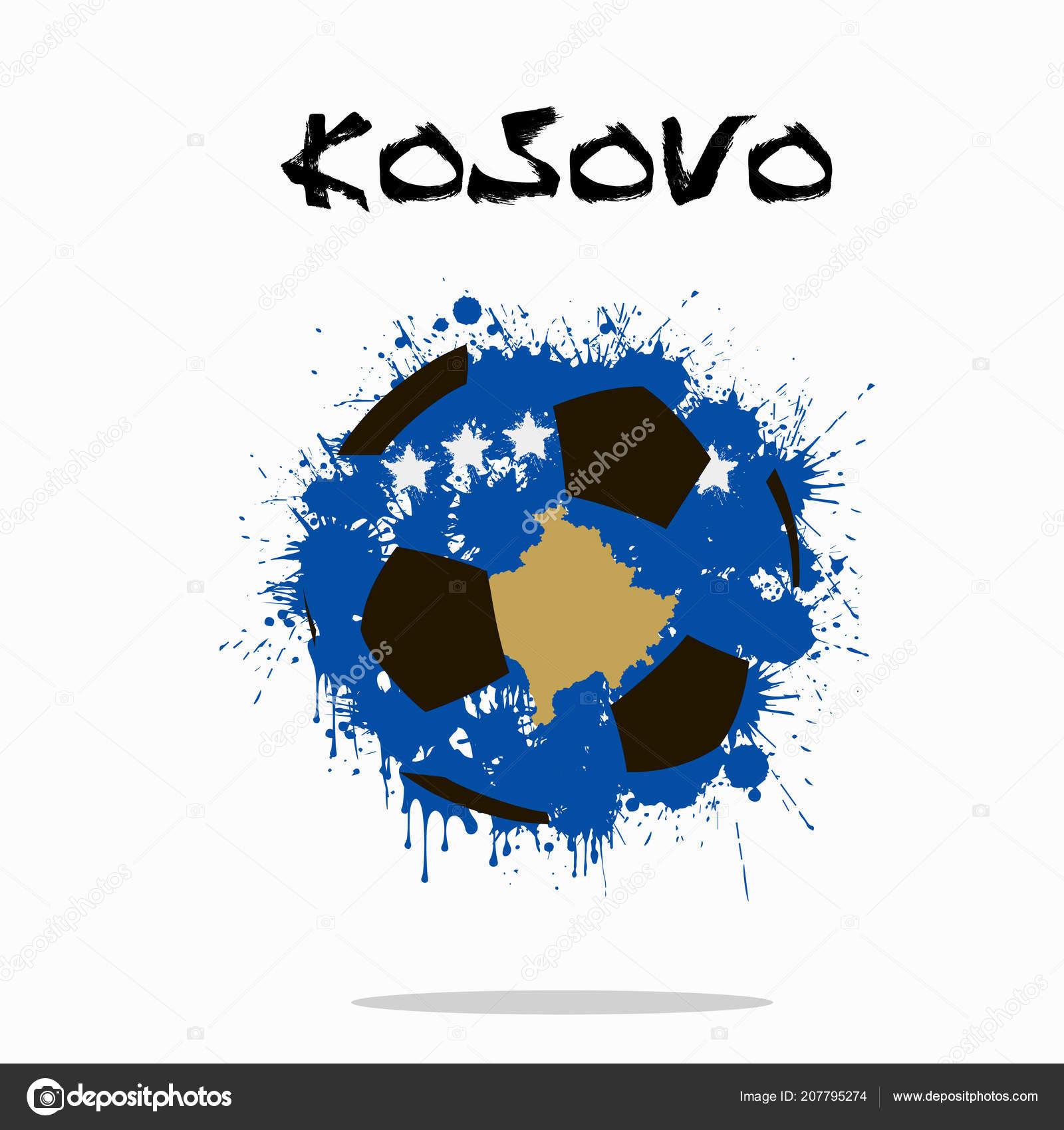 Abstract Soccer Artwork