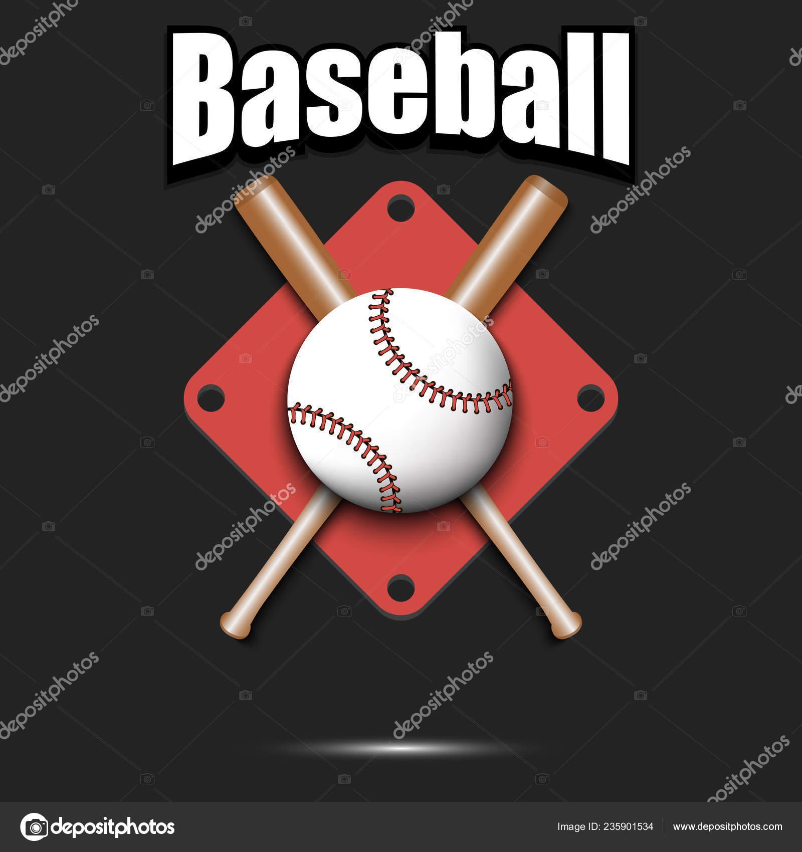 Baseball logo design template — Stock Vector © Mityay_PG