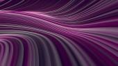 Digitální abstraktní fialové barevné čáry 3d vykreslení pozadí