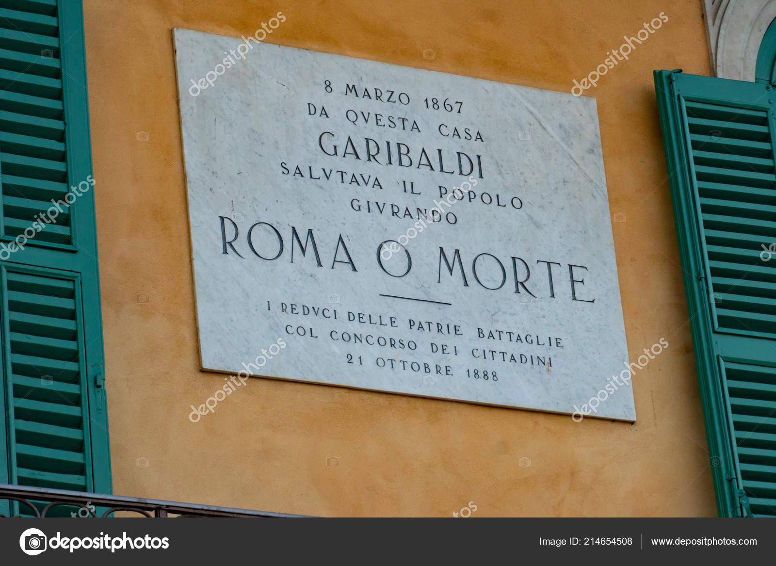 Verona Itália Setembro 2018 Painel Memorial Piazza Bra
