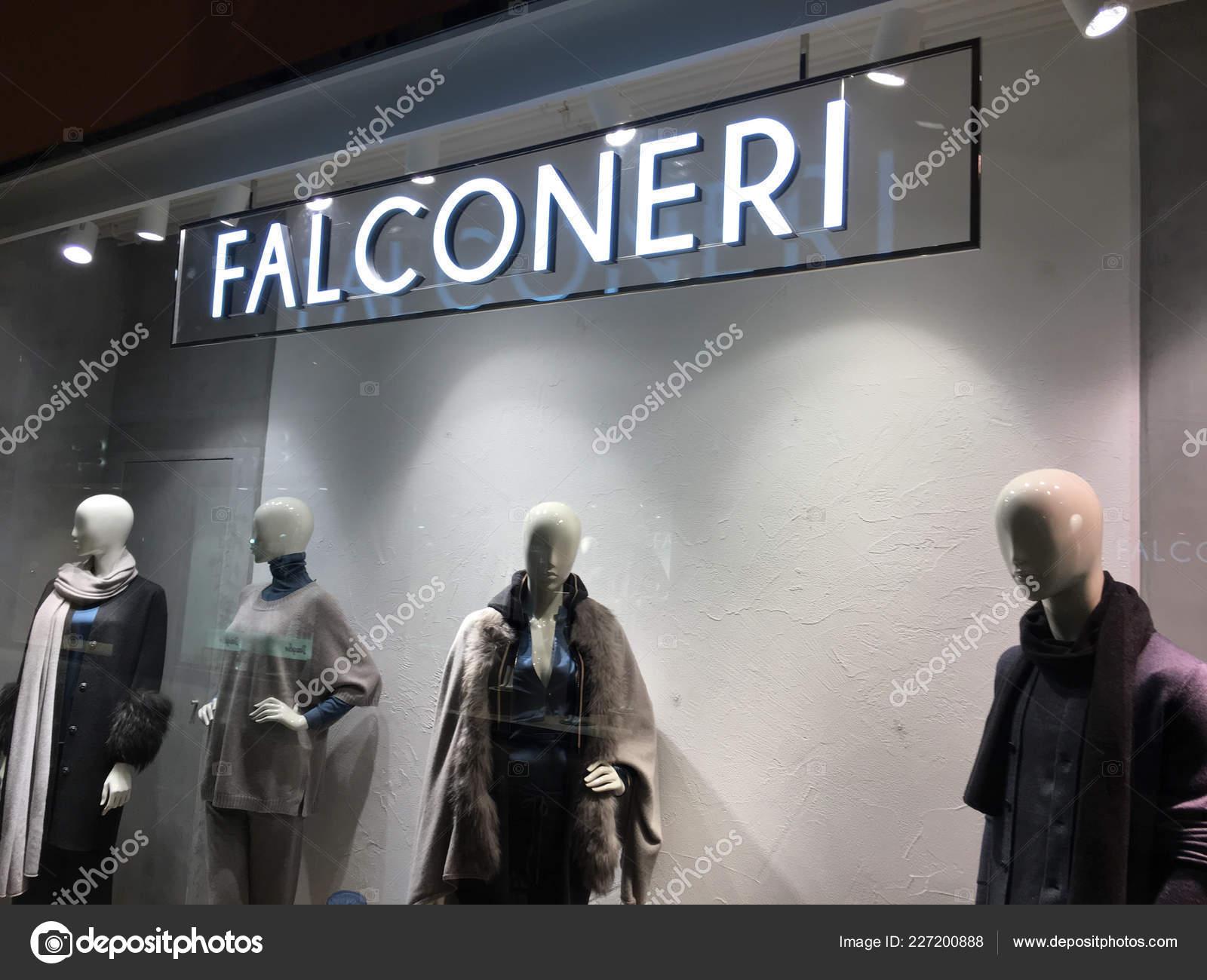 best service b8456 e66a6 Verona Italy September 2018 Falconeri Store Window Falconeri ...