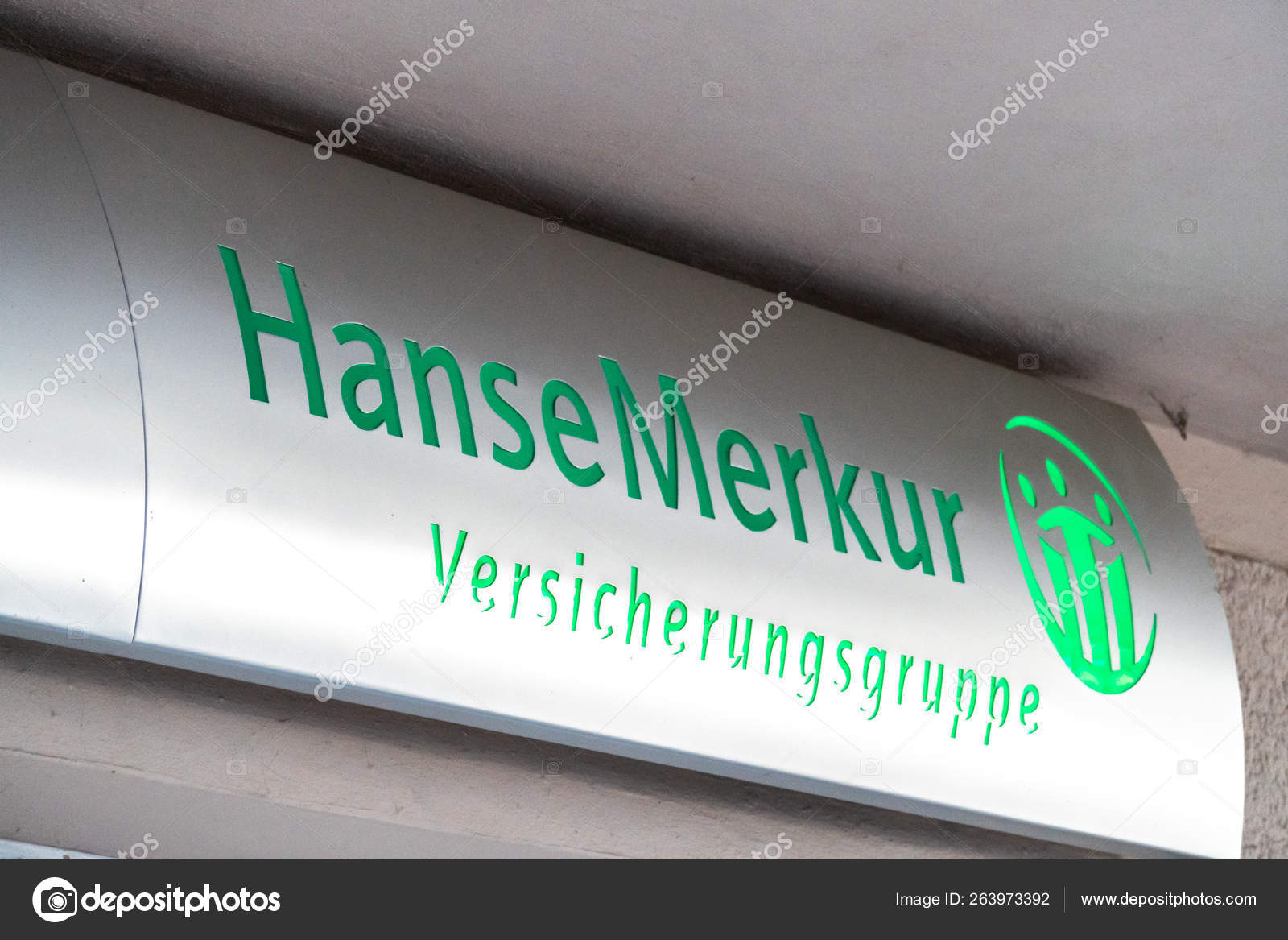 Berlin Germany April 2019 Signage Hansemerkur German