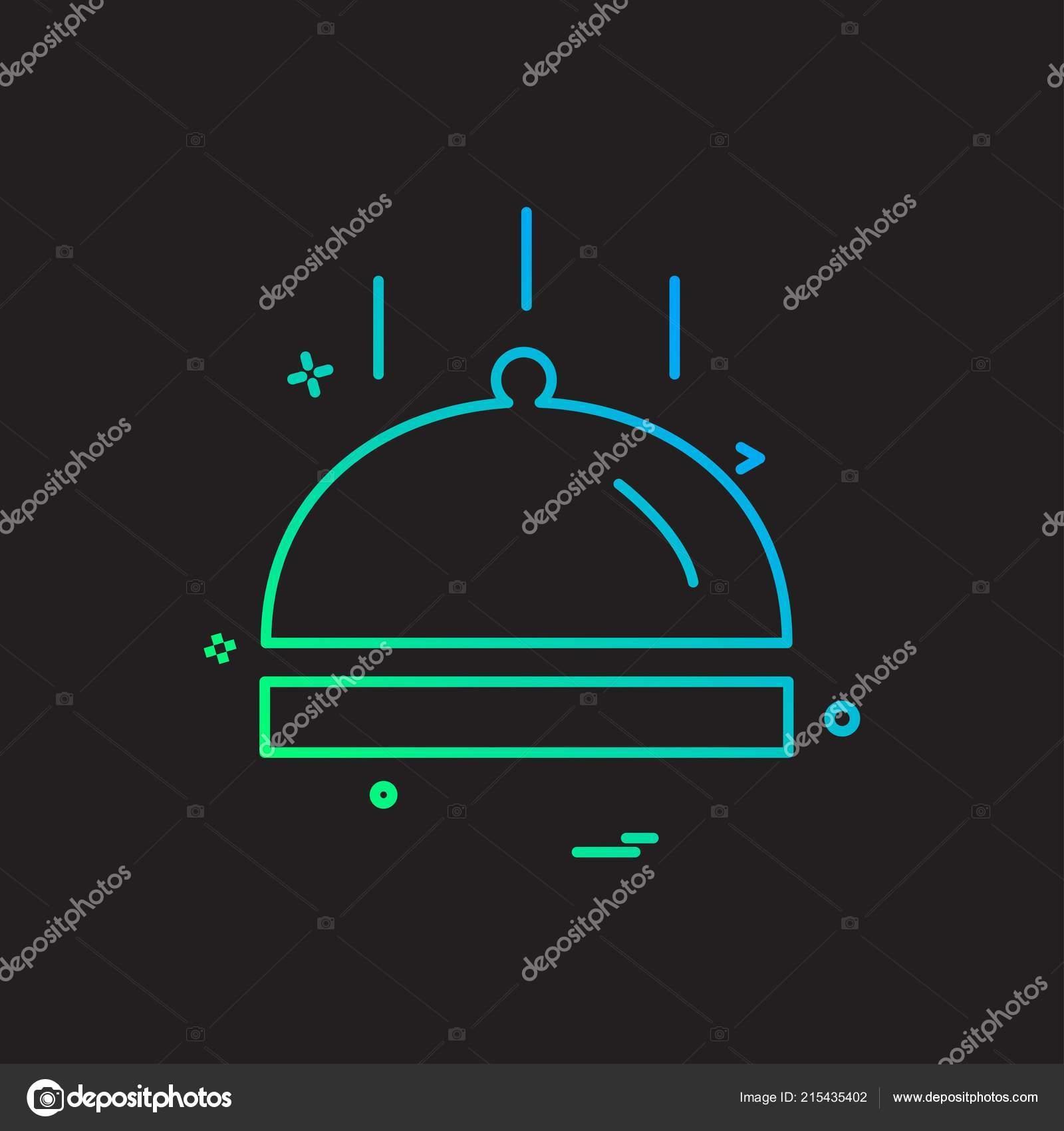 Food Icon Design Vector — Stock Vector © indify #215435402