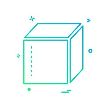box delivery closed icon vector design