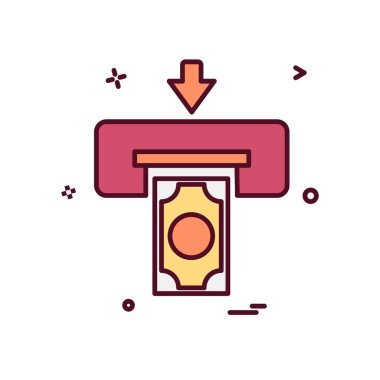 Printer icon design, vector illustration