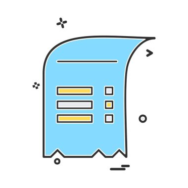 Document icon design vector