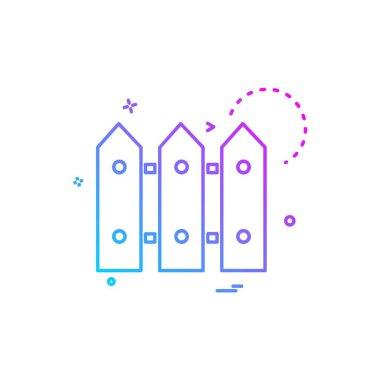 Boundry icon design vector