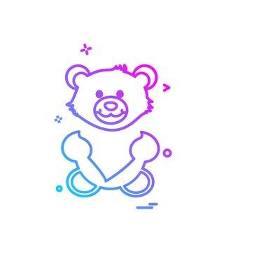 Valentine's day icon design vector