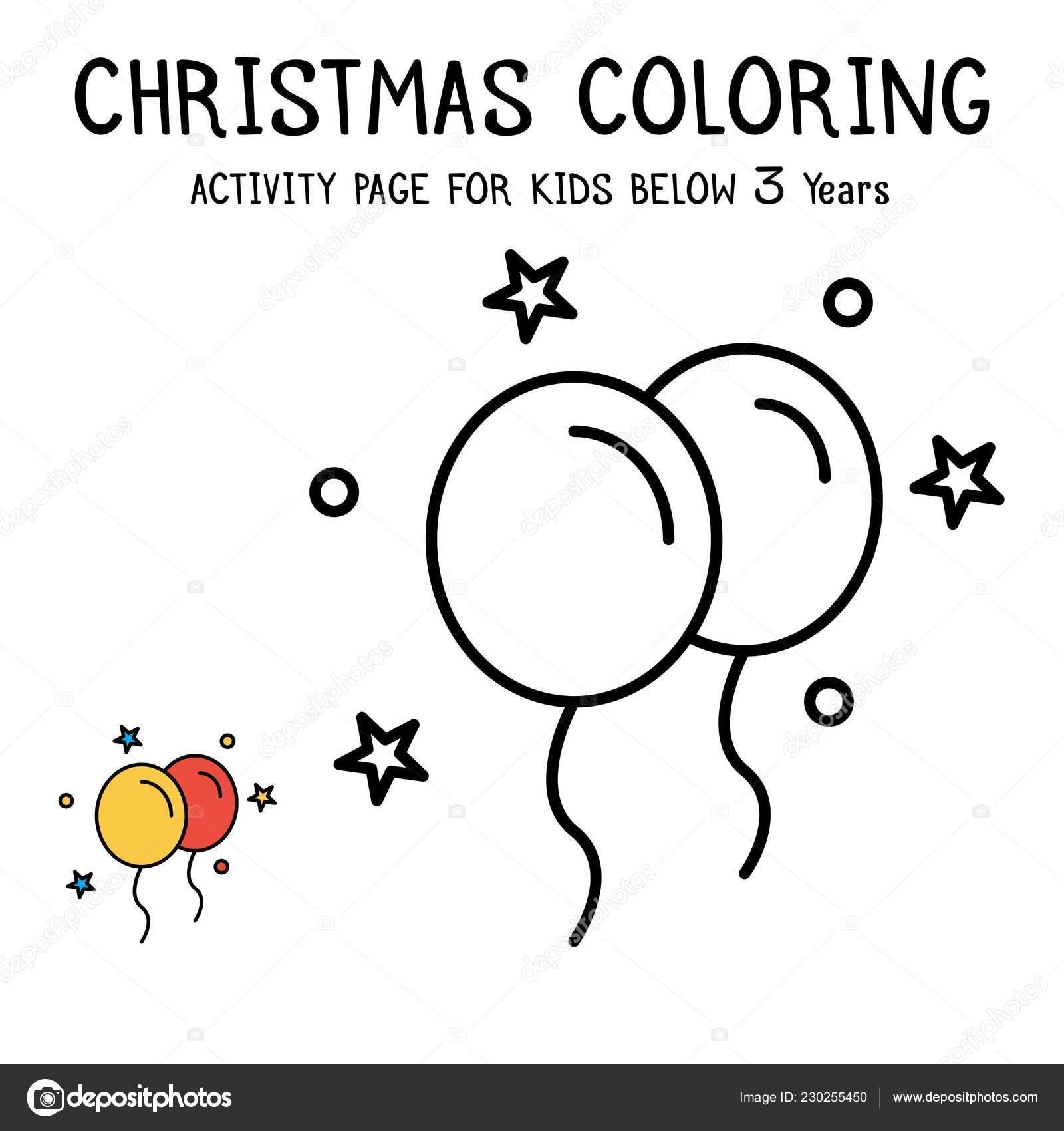 Libro Navidad Para Colorear Trabajamos Para Niños Menores Años