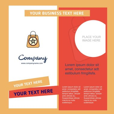 Company Brochure Template. Vector Business Template