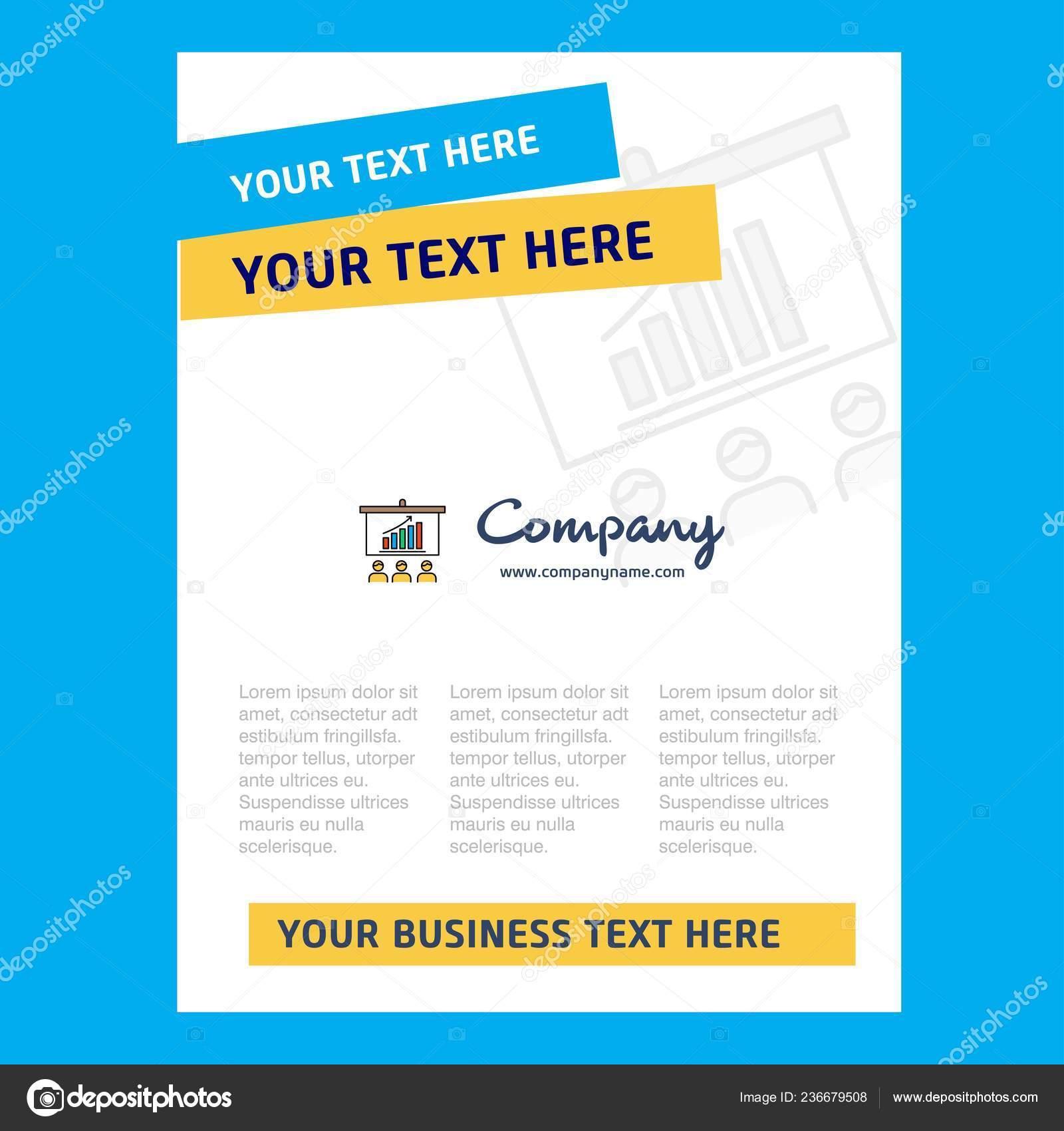 Presentation Title Page Design Company Profile Annual Report