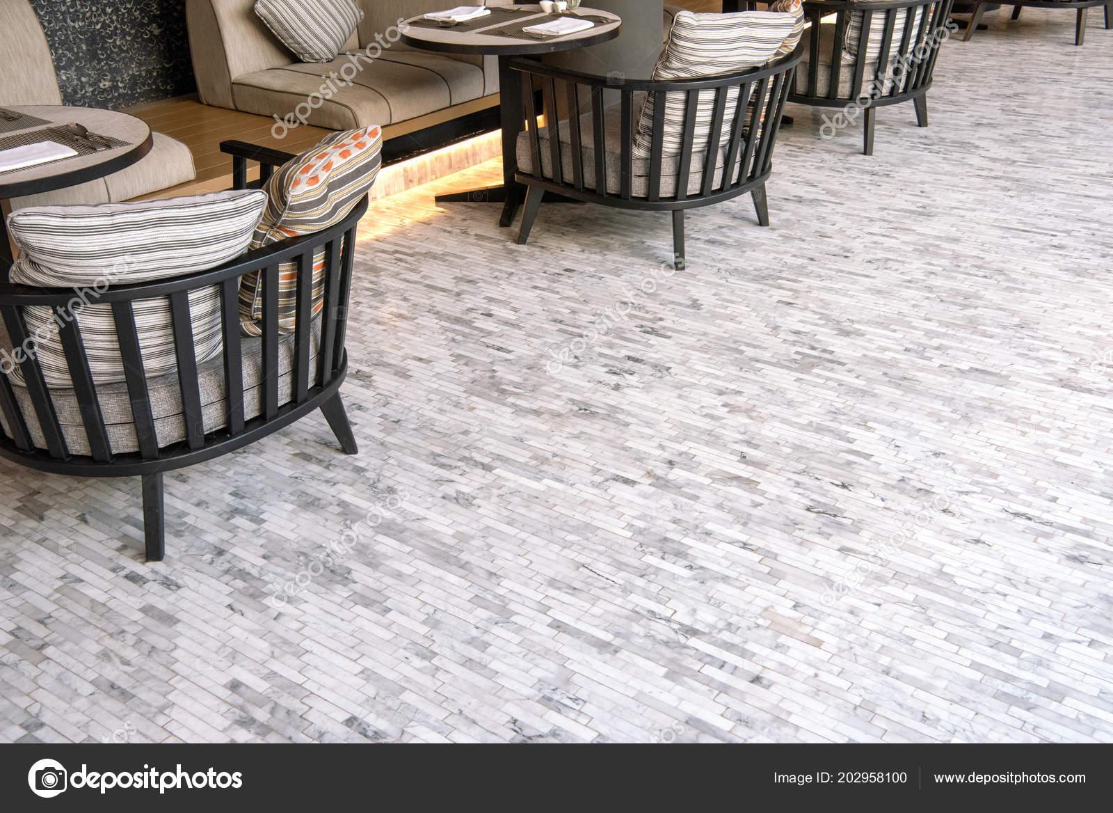 White Marble Tile Flooring Outdoor Living Room Stock Photo C Kitthanes R Hotmail Com 202958100