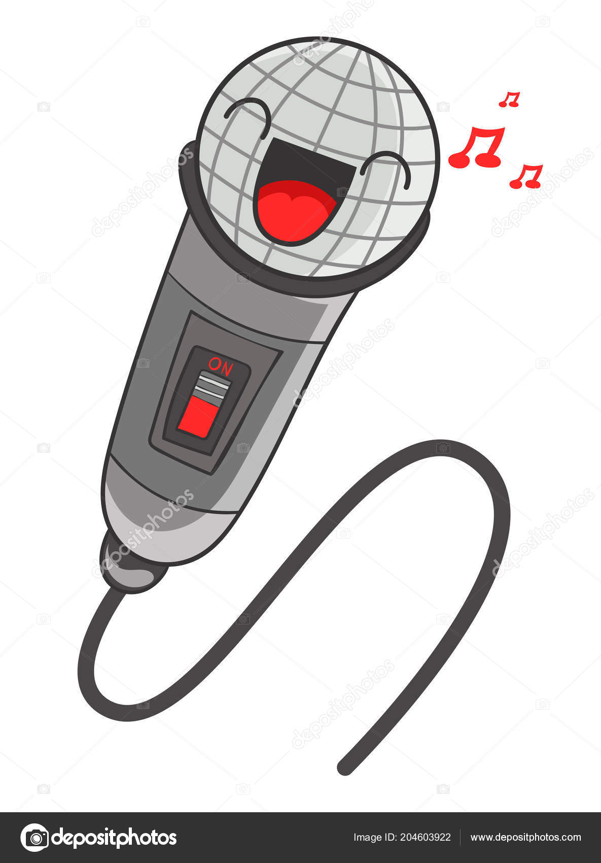 Amigo Secreto - PRESENTES Depositphotos_204603922-stock-illustration-cartoon-microphone-vector-illustration
