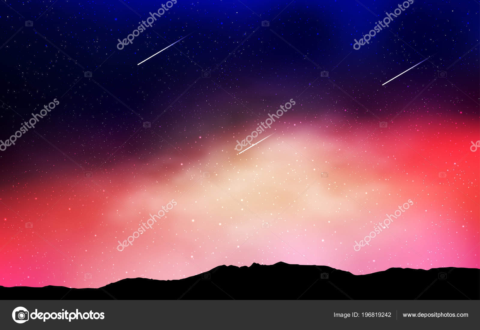 depositphotos 196819242 stock illustration light blue red vector background
