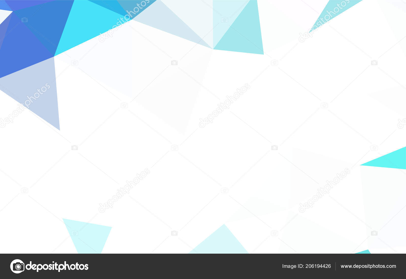 Light Blue Yellow Vector Abstract Mosaic Background Creative