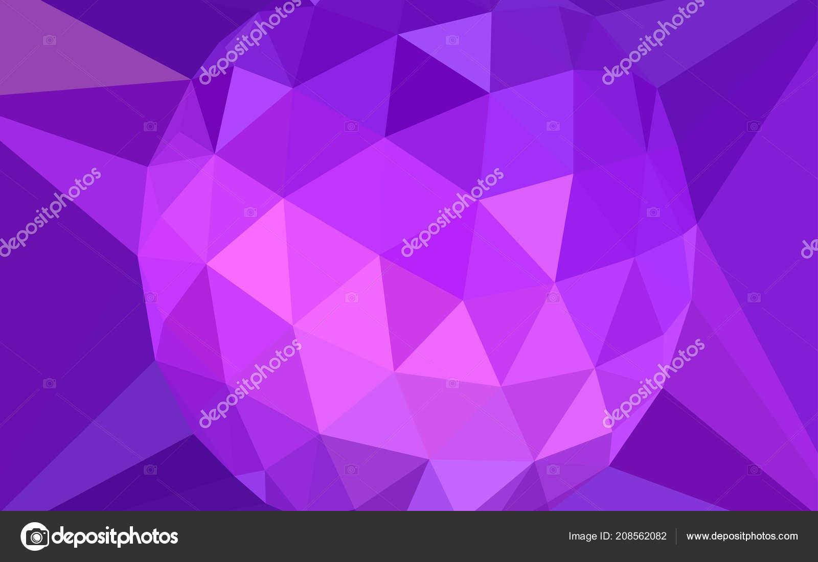 light purple pink vector abstract polygonal template gem centre