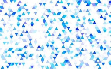 Light Purple vector shining triangular background. An elegant bright illustration with gradient. The elegant pattern can be used as part of a brand book.