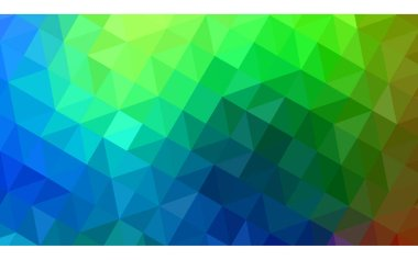 Dark Multicolor vector Pattern.  triangular template. Geometric sample. Repeating routine with triangle shapes. New texture for your design. Pattern can be used for background.