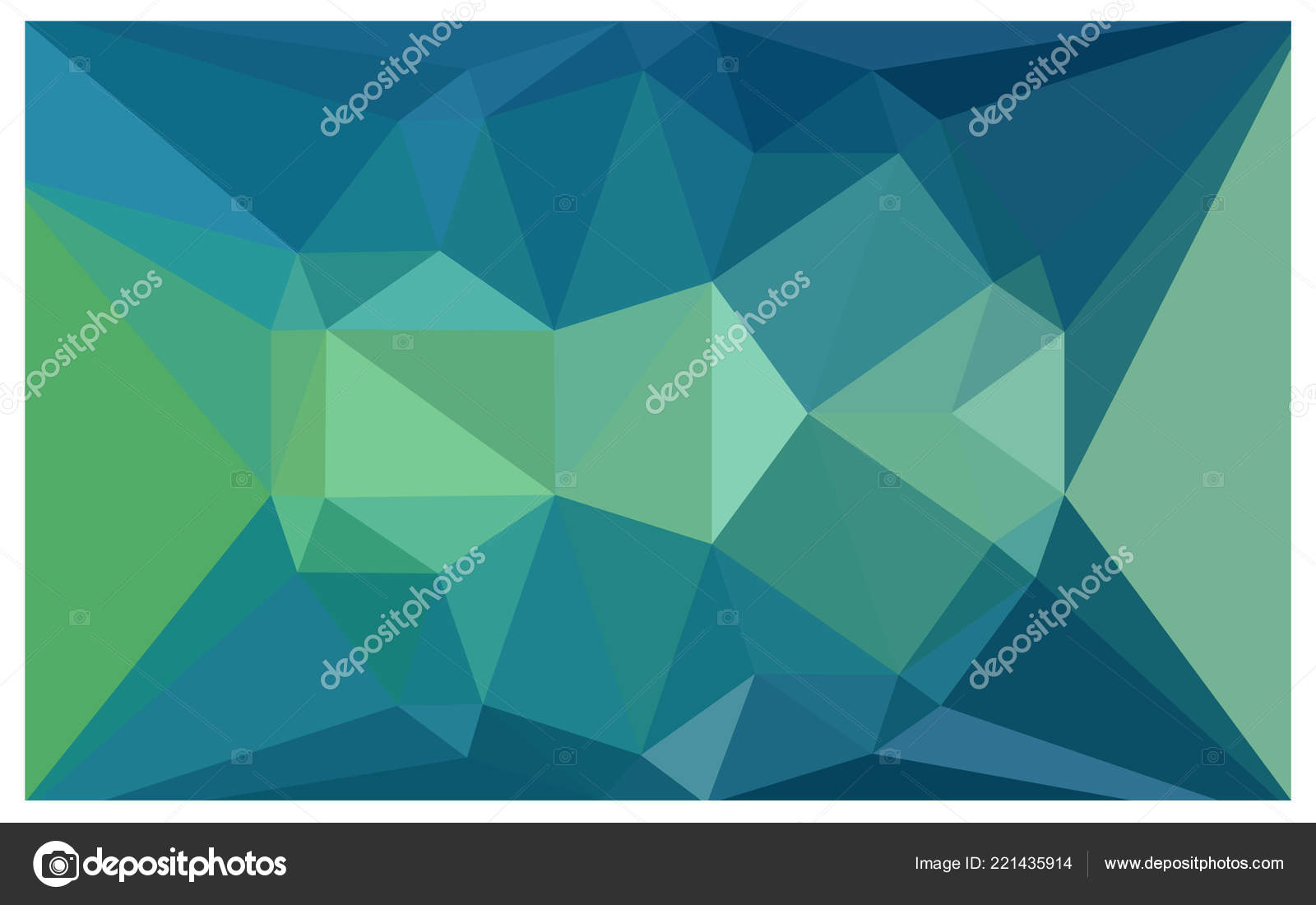 light blue green vector diamond pattern geometric gemstone sample